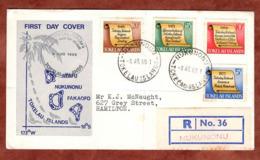 FDC, Einschreiben Reco, Historische Ereignisse, Nukunonu Tokelau Inseln 1969 (79220) - Tokelau