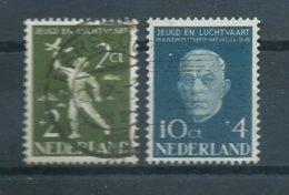 1954 Netherlands Complete Set Luchtvaartfonds Used/gebruikt/oblitere - Periodo 1949 - 1980 (Giuliana)
