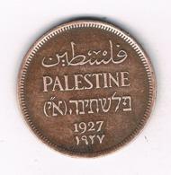 ONE MIL 1927 PALESTINA /6604/ - Autres – Asie
