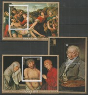 3 Pcs RWANDA - MNH - Art - Painting - Easter 1975 - Religious