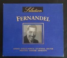 DOUBLE CD DE FERNANDEL 28 TITRES ANNÉE 1999 NEUF SANS BLISTER 2 SCANS - Humor, Cabaret