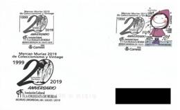SPAIN. POSTMARK COLLECTING AND VINTAGE MARKET. MURIAS . 2019 - España