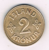2 KRONA 1940 (mintage 546000 Ex)  IJSLAND /'6608// - Island