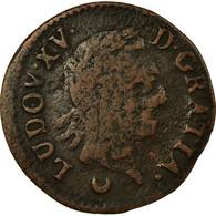 Monnaie, France, Louis XV, Liard à La Vieille Tête, Liard, 1770, Metz, TB - 987-1789 Royal
