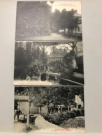 3 Cartes ALET La Source Communale La Buvette - Sonstige Gemeinden
