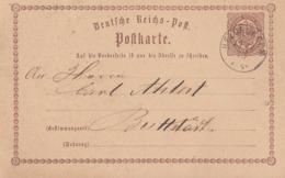DR Ganzsache K1 Heldrungen 17.12.73 - Deutschland