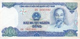 BILLETE DE VIETNAM DE 20000 DONG DEL AÑO 1991  (BANKNOTE) - Vietnam