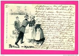 CPA  (Réf Z870)  Illustrateur Jace ALLULÉ Retour Du Mousse - Illustratori & Fotografie