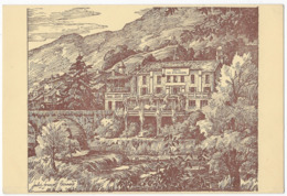 Sospel Hotel Des Etrangers Domerego Propriétaire Illustrateur Jules-François Bernard - Sospel
