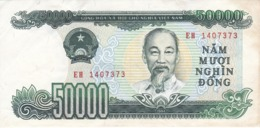 BILLETE DE VIETNAM DE 50000 DONG DEL AÑO 1994  (BANKNOTE) - Vietnam
