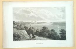 Staalgravure 'Arnhem'/ Steel Engraving 'Arnhem', Batty, Corbould, 1825 - Prenten & Gravure