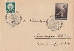 DR Brief Mif Minr.689,694 SST München 1.5.39 Gel. Nach Leverkusen - Briefe U. Dokumente