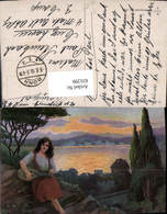 631299,Künstler Ak H. Schwarz Sinti Roma Zigeuner Mignon - Ansichtskarten