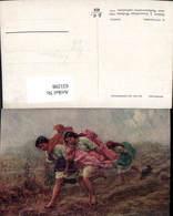 631298,Künstler Ak A. Piotrowski Deszcz Mädchen Sinti Roma Zigeuner Mignon - Ansichtskarten