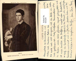 631129,Künstler Ak Bronzino Portrait D Un Sculpteur Künstler Maler Malerei - Berufe