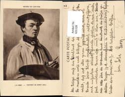 631128,Künstler Ak J. B. Gorot Portrait De Corot Maler Malerei - Berufe