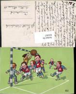 631057,Künstler Ak Kinder Spielen Fussball Ball Sport - Fussball