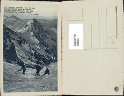 631051,Männer I. Schneefeld Klettern Bergsteigen - Alpinismus, Bergsteigen