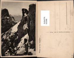 631046,Klettern Am Fels Neuschnee Bergsteigen - Alpinismus, Bergsteigen