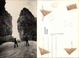 631040,Foto Ak Männer Klettern Gavarnie La Breche De Roland Bergsteigen - Alpinismus, Bergsteigen