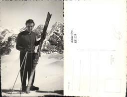 631024,Foto Ak Mann M. Ski Skier V. Bergkulisse Wintersport - Wintersport