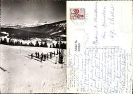 631018,Foto Ak La Feclaz Savoie Arrive Du Telebenne Ski Abfahrt Skilift Wintersport - Wintersport