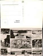 631000,Landkarten AK Die 5 Seen Fahrt Malente Gremsmühlen Dieksee Timmdorf - Ansichtskarten