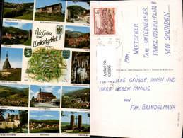 630995,Landkarten AK Wechselgebiet Gloggnitz Ratten Edlitz Feistritz Hochegg Aspang - Ansichtskarten