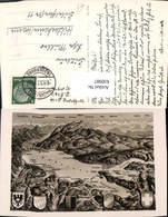 630987,Landkarten AK Bodensee Bregenz Staad Konstanz - Ansichtskarten