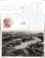 630978,Landkarten AK Vogelschau Klagenfurt U. D. Wörthersee - Ansichtskarten