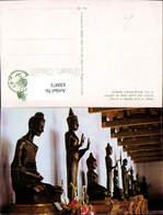 630973,Bangkok Wat Benchamabopitr Images Of Lord Buddha In Various Postures Thailand - Thaïland