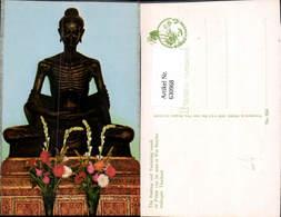 630968,Thailand Bangkok Wat Benchamabopitr The Fasting And Torturing Monk Statue - Thaïland