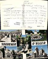 630961,Mehrbild Ak Souvenir De Alger Algier Algerien - Algerien