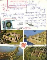 630935,Mehrbild Ak Castles Of Wales Boaumaris Caernarfon Conway Harlech Great Britain - Ansichtskarten