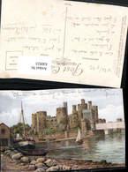 630923,Künstler Ak A. R. Quinton Conway Conwy Castle From River Segelboot Great Brita - Ansichtskarten