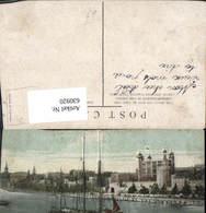 630920,London Tower Of London From River Segelschiff Great Britain - Ansichtskarten