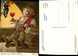 630721,Ich Bin Ein Stiller Zecher Igel Vermenschlicht Wein Pub Mecki 311 - Mecki