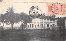 Afrique (Guinea) GUINEE FRANCAISE Direction Des Travaux Publics Et Service Des Mines -timbre Stamp *PRIX FIXE - Guinée Française