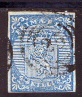 Norvege 1855 Yvert 1 (o) B Oblitere(s) - Norvège