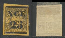 Nouvelle-Caledonie 1881 Yvert 4 (o) B Oblitere(s) - Usados