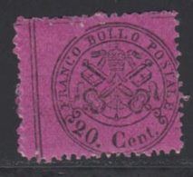 Etats Pontificaux 1868 Yvert 23 ** TB - Kirchenstaaten
