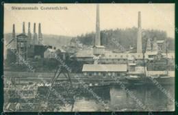 Norway Royken Slemmestad Cementfabrik Cartolina KB5947 - Norwegen