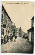 Augignac Rue De La Poste - France