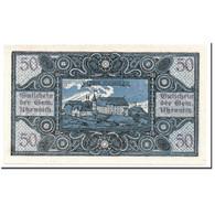 Billet, Autriche, Utzenaich, 50 Heller, Paysage, 1920, SPL, Mehl:1107 - Autriche