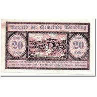 Billet, Autriche, Wendling, 20 Heller, Paysage, 1920, 1920-05-02, SPL, Mehl:1170 - Autriche