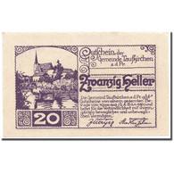 Billet, Autriche, Taufkirchen An Der Pram, 20 Heller, Paysage, 1920, 1920-04-13 - Autriche