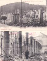 LA GUERRE  DE 14/18   2 CPA  704 - Postcards