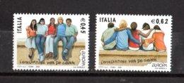 ITALIA :   Europa-Cept 2006 - Integrazione Fra I Giovani -  2val. MNH**  Del  8.05.2006 - 2006