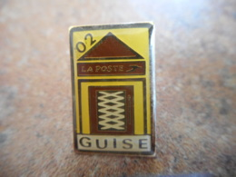 A040 -- Pin's Poste 02 Guise -- Exclusif Sur Delcampe - Postes