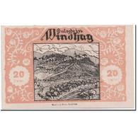Billet, Autriche, Windhag, 20 Heller, Paysage, 1920, SPL, Mehl:1244 - Autriche
